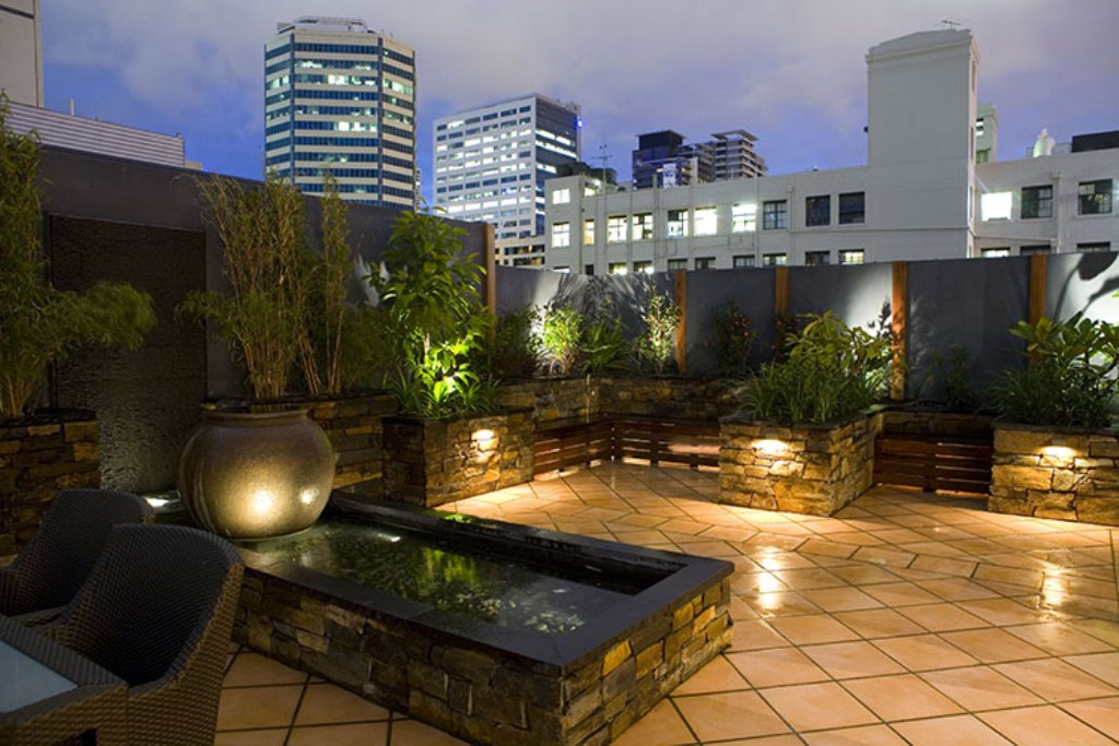 Stylish Rooftop Landscape