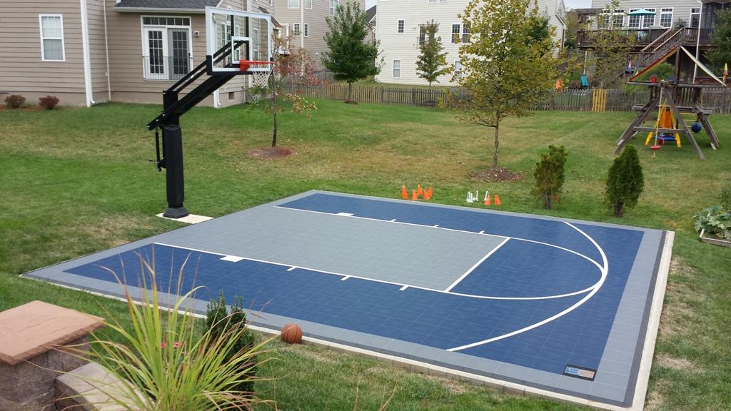 DIY Backyard Basketball Court — Rickyhil Outdoor Ideas