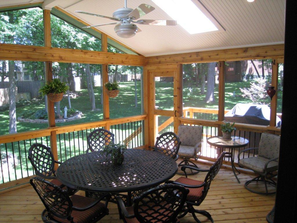 Build Screen Porch Panels