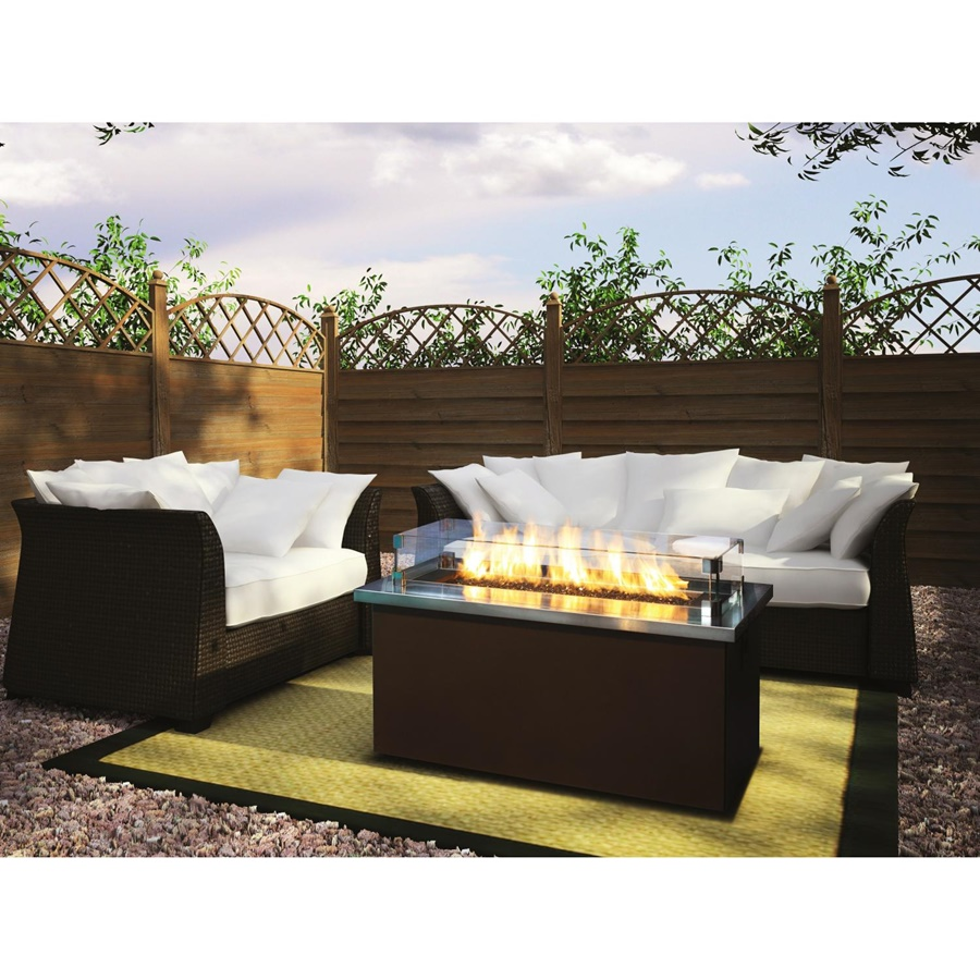 Contemporary Outdoor Gas Fire Pits Table
