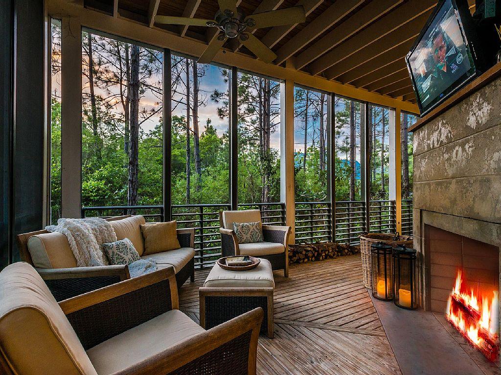 Cozy Screen Porch Panels