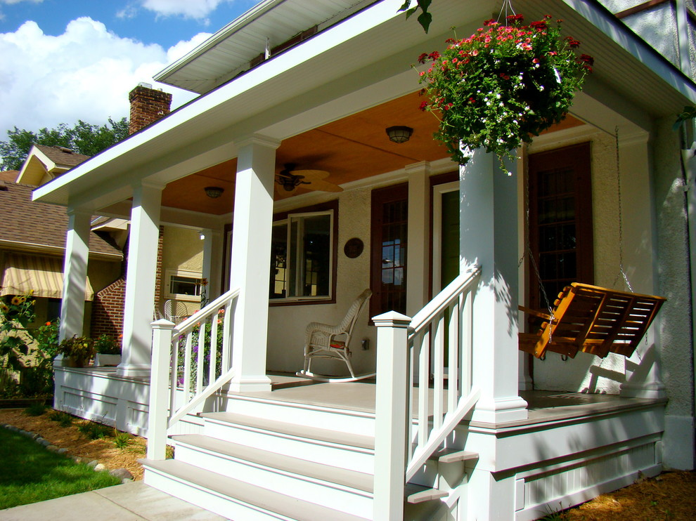 Craftsman Front Porch Columns