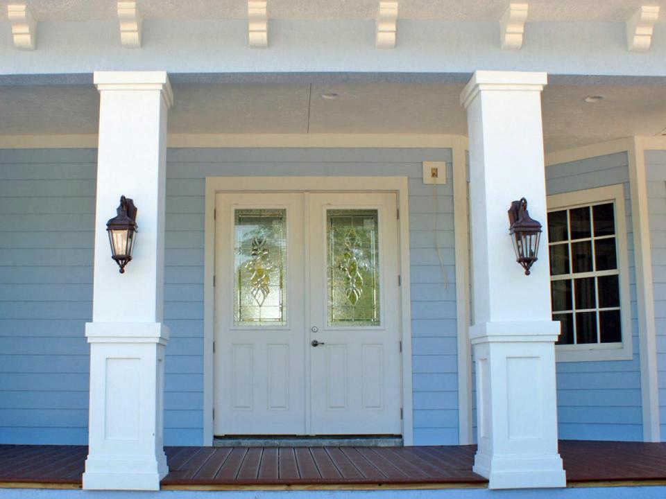 Front Porch Columns Plan