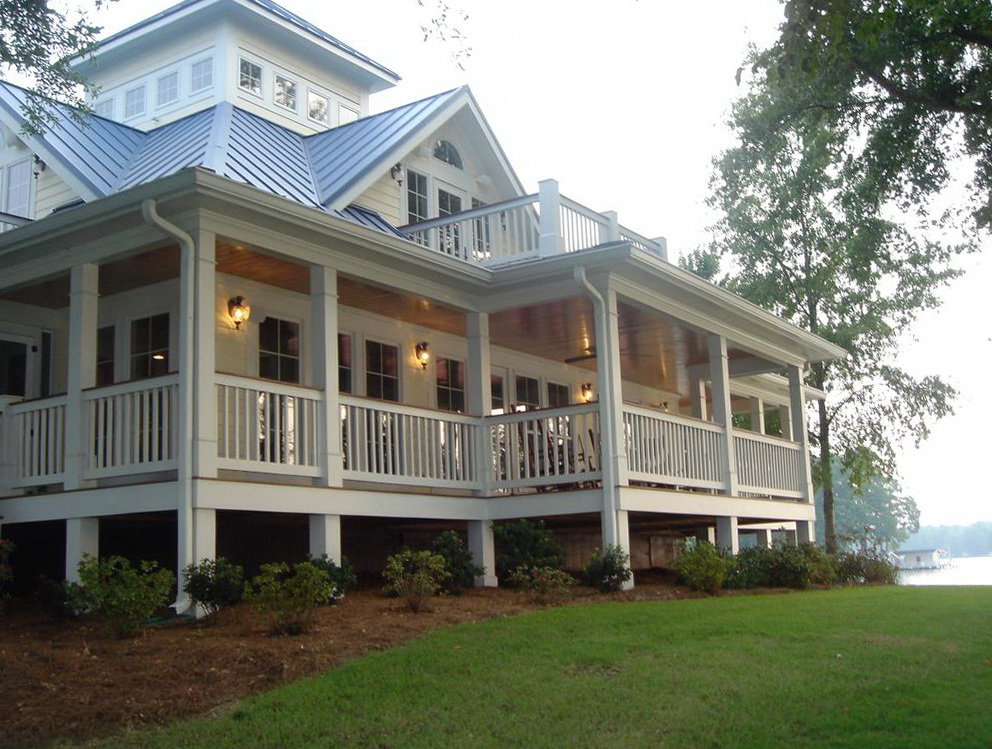 Houses With Wrap Around Porches Decoration