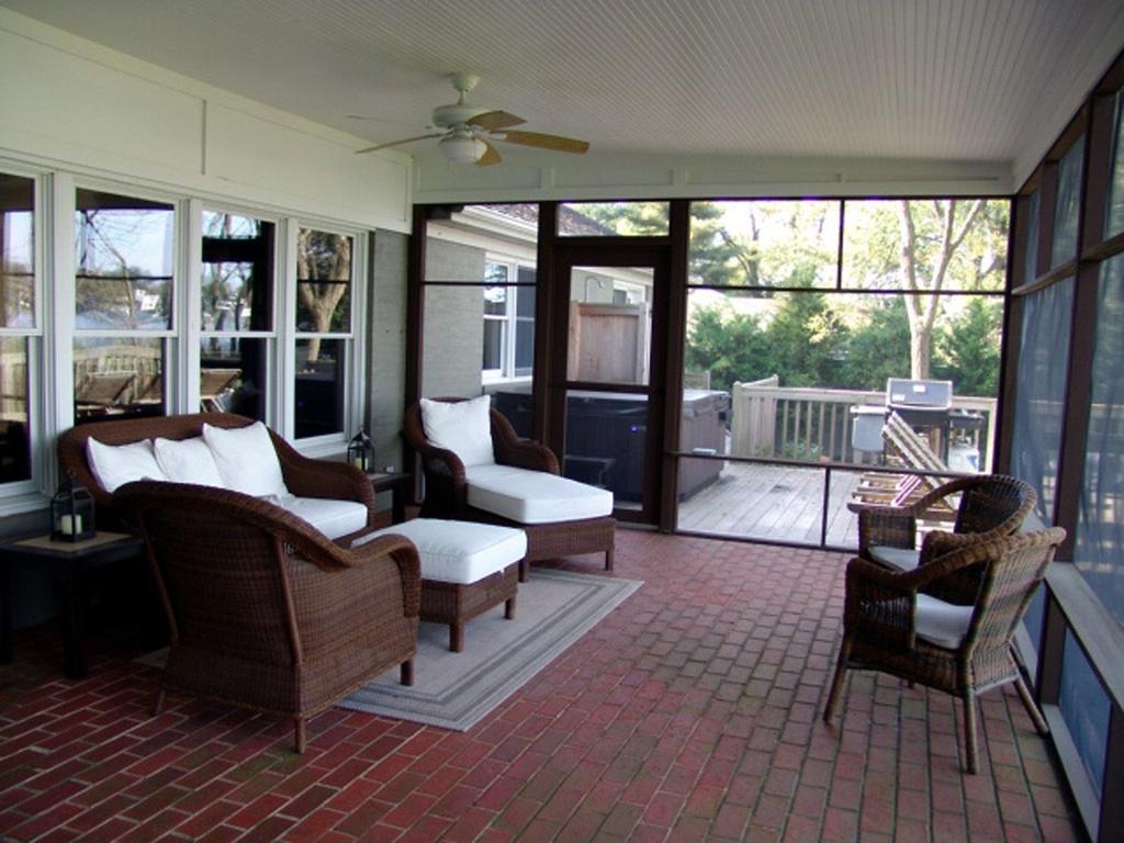 Interior Screen Porch Panels