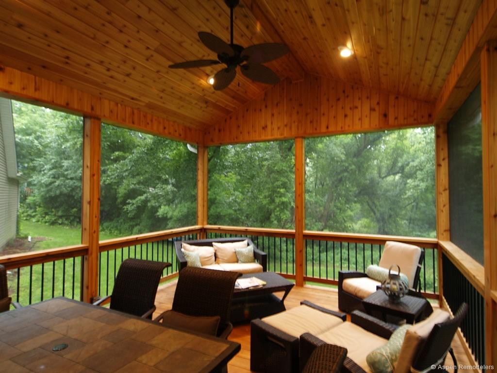 Interior Screened In Porches