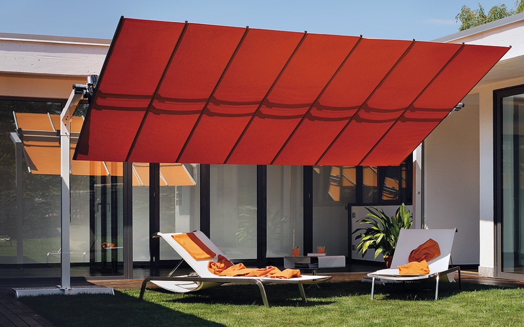 Modern Backyard Umbrella