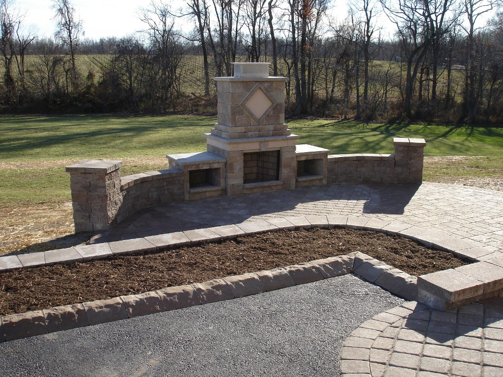 Outdoor Fireplace Kits Lowes Designs Rickyhil Ideas