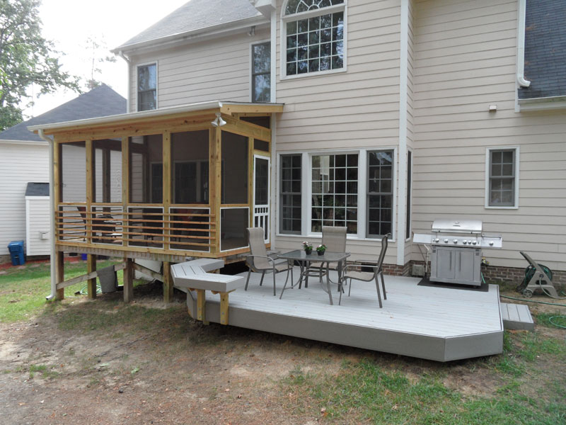 Privacy Screened In Porches