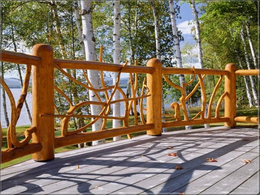 Rustic Deck Railing Ideas Decorating