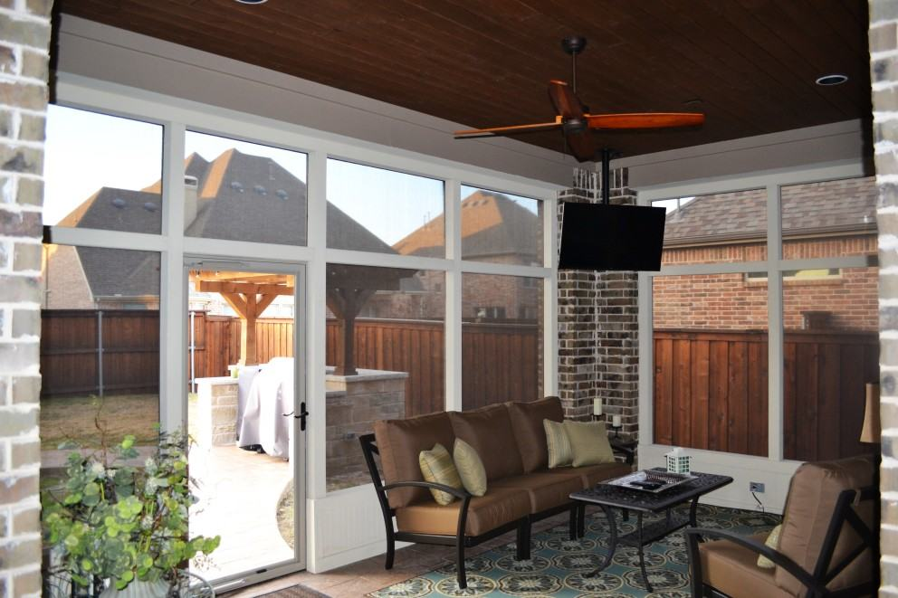 Safety Screened In Porches