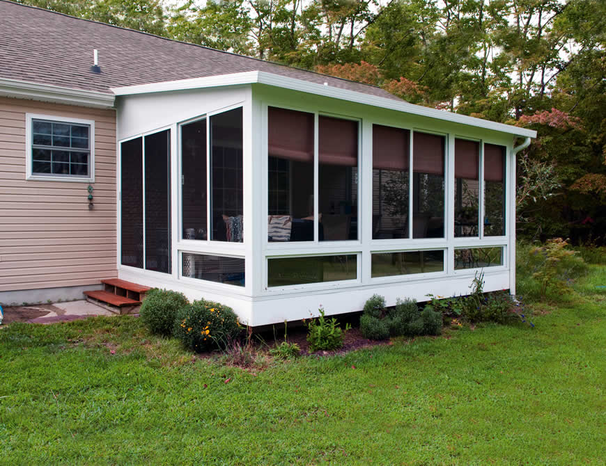 Screened In Porches Size