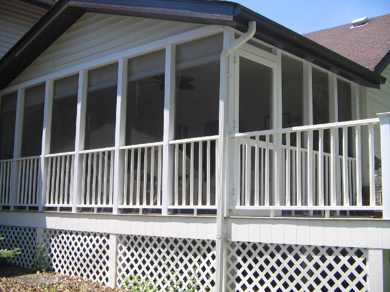 Screened In Porches Style