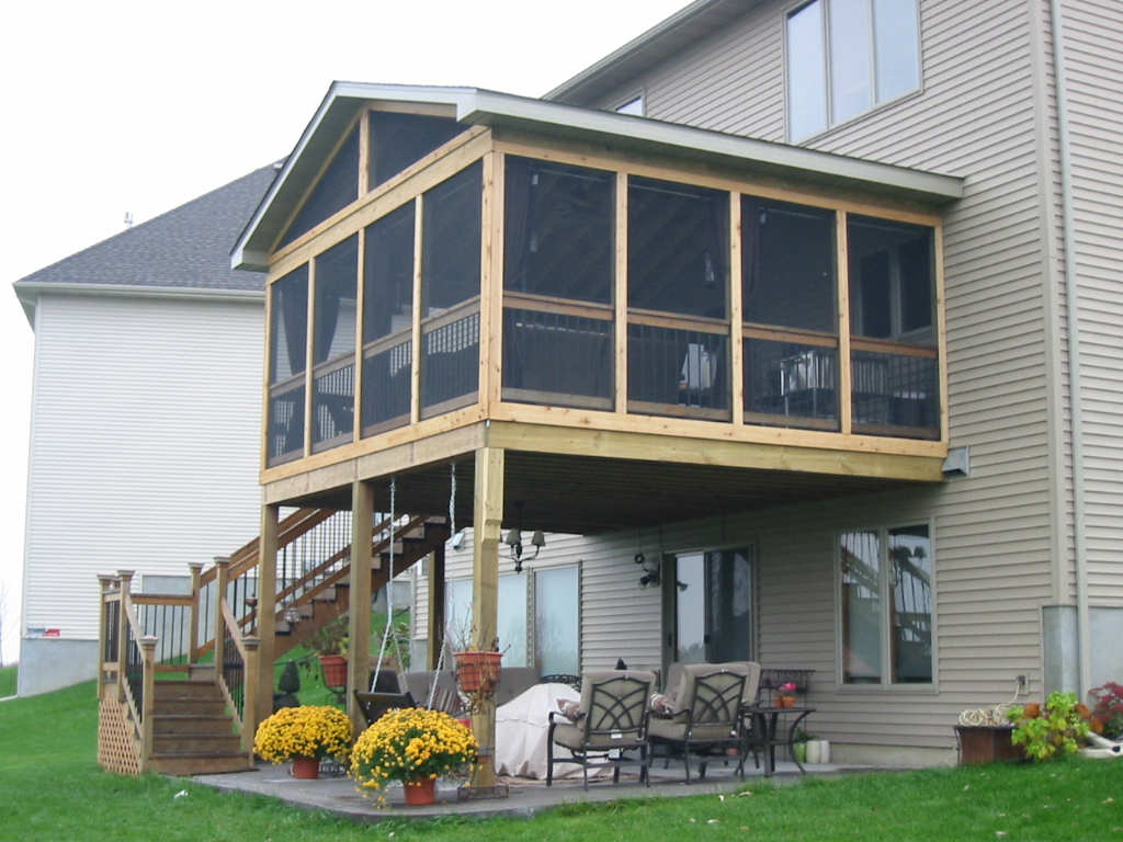 Screened In Porches Type