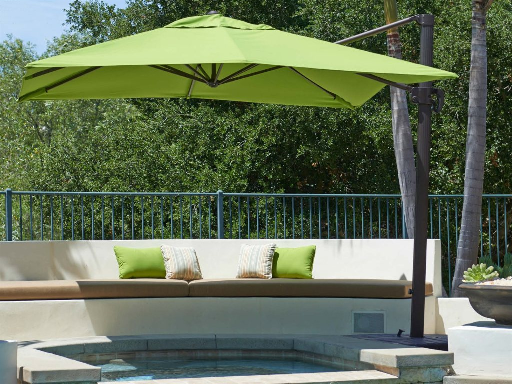 Top Cantilever Patio Umbrella