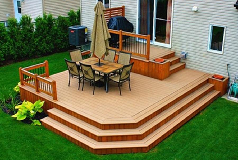 Top Small Backyard Decks : Rickyhil Outdoor Ideas - How To ...