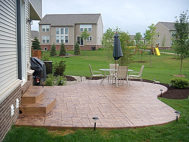 Top Stamped Concrete Patio Rickyhil Outdoor Ideas Stamped