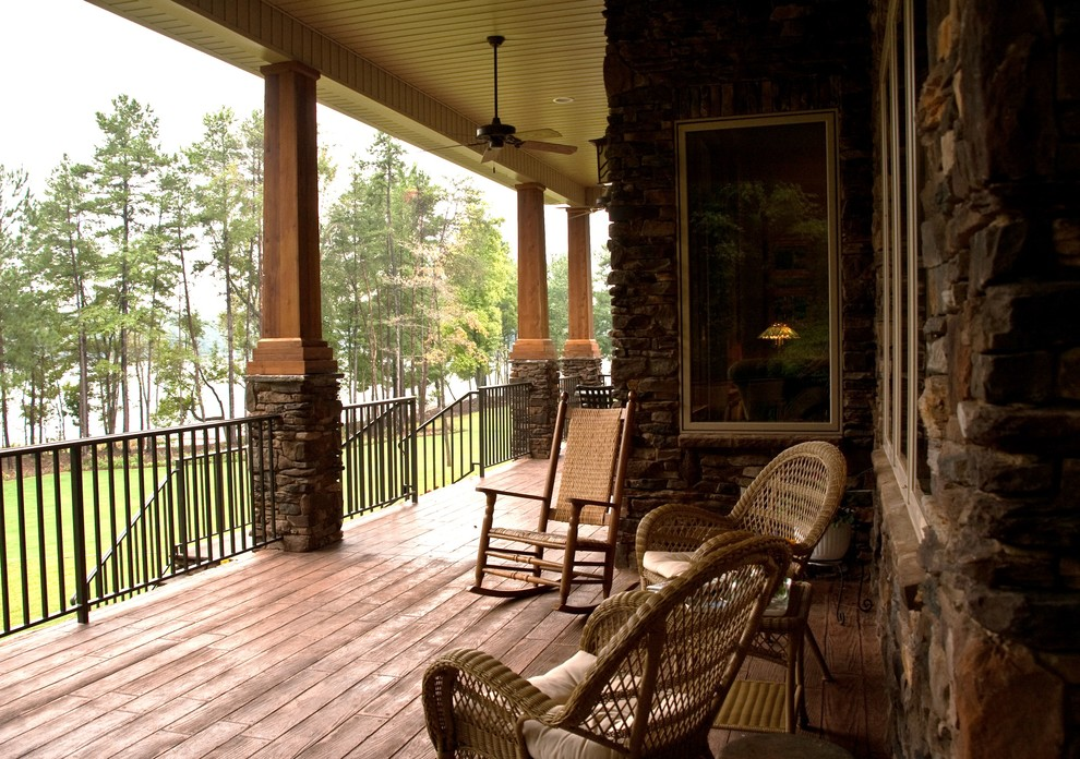 Traditional Front Porch Columns