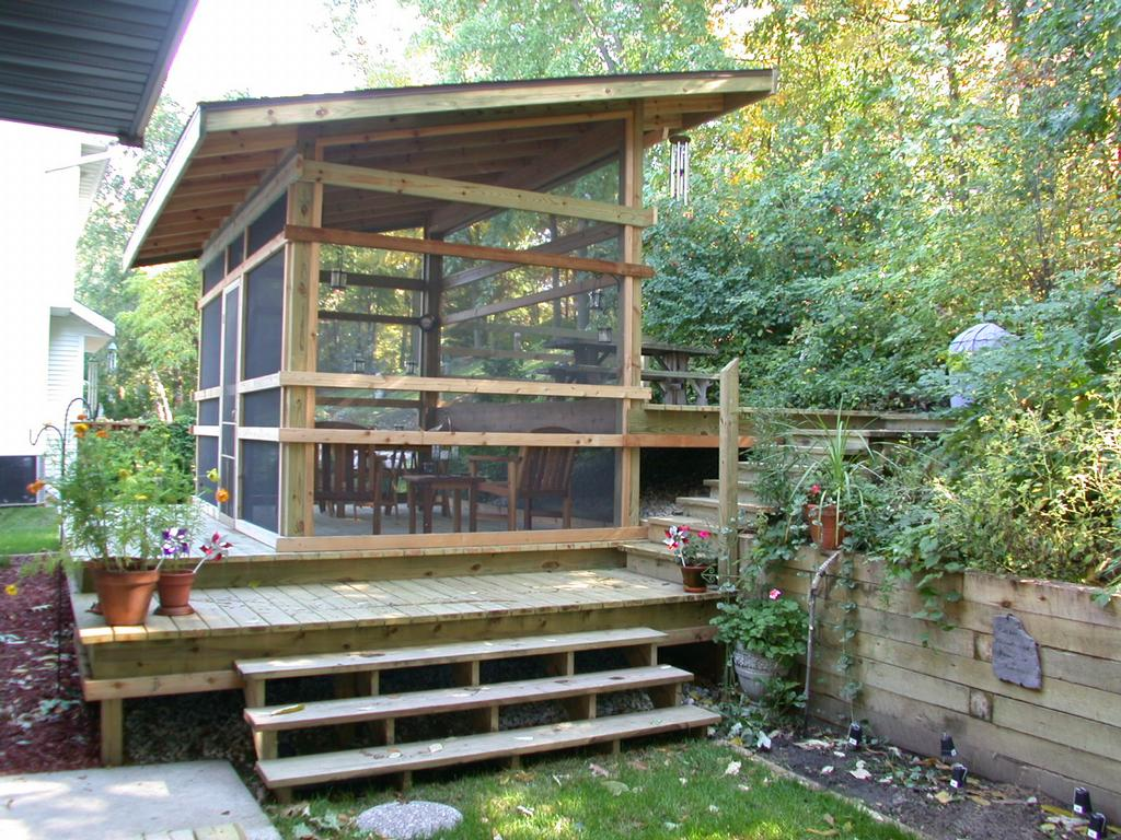 Very Small Screen Porch Panels