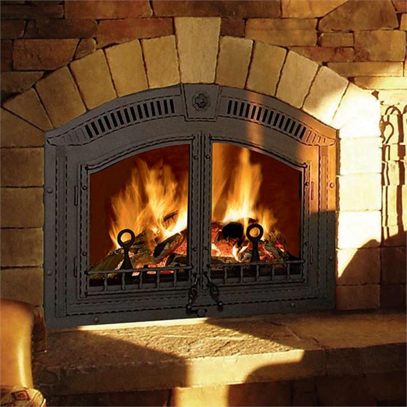 Wood Burning Outdoor Fireplace Classic