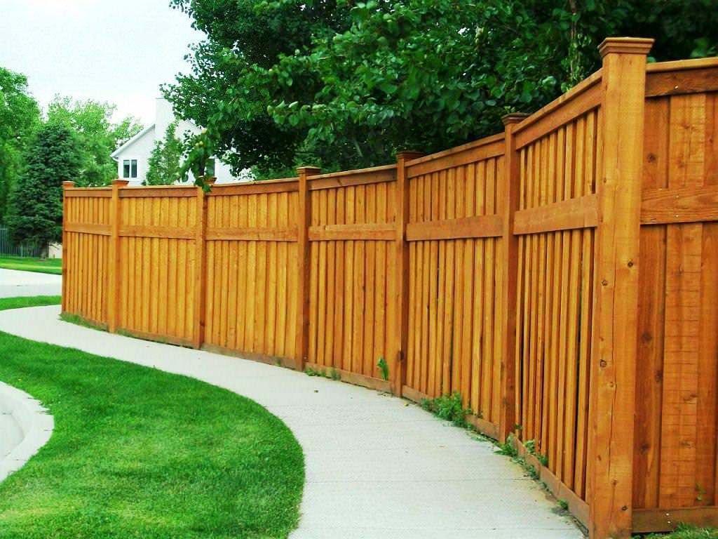 Wooden Backyard Fences
