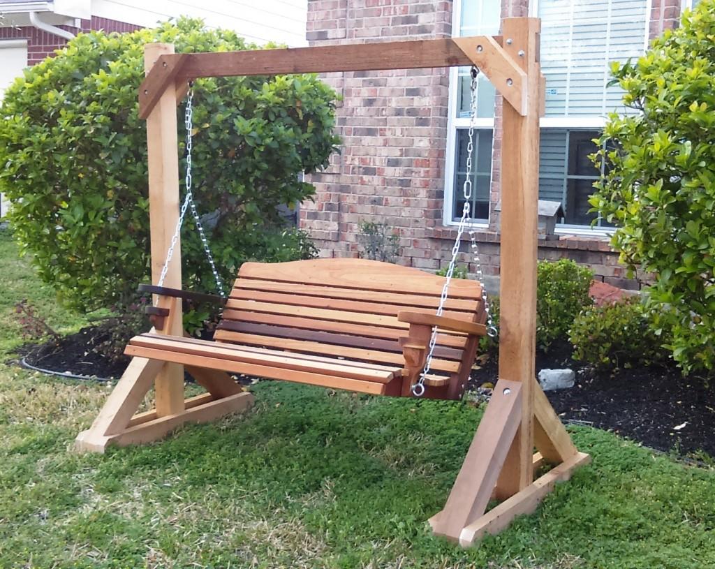 Wooden Backyard Swings