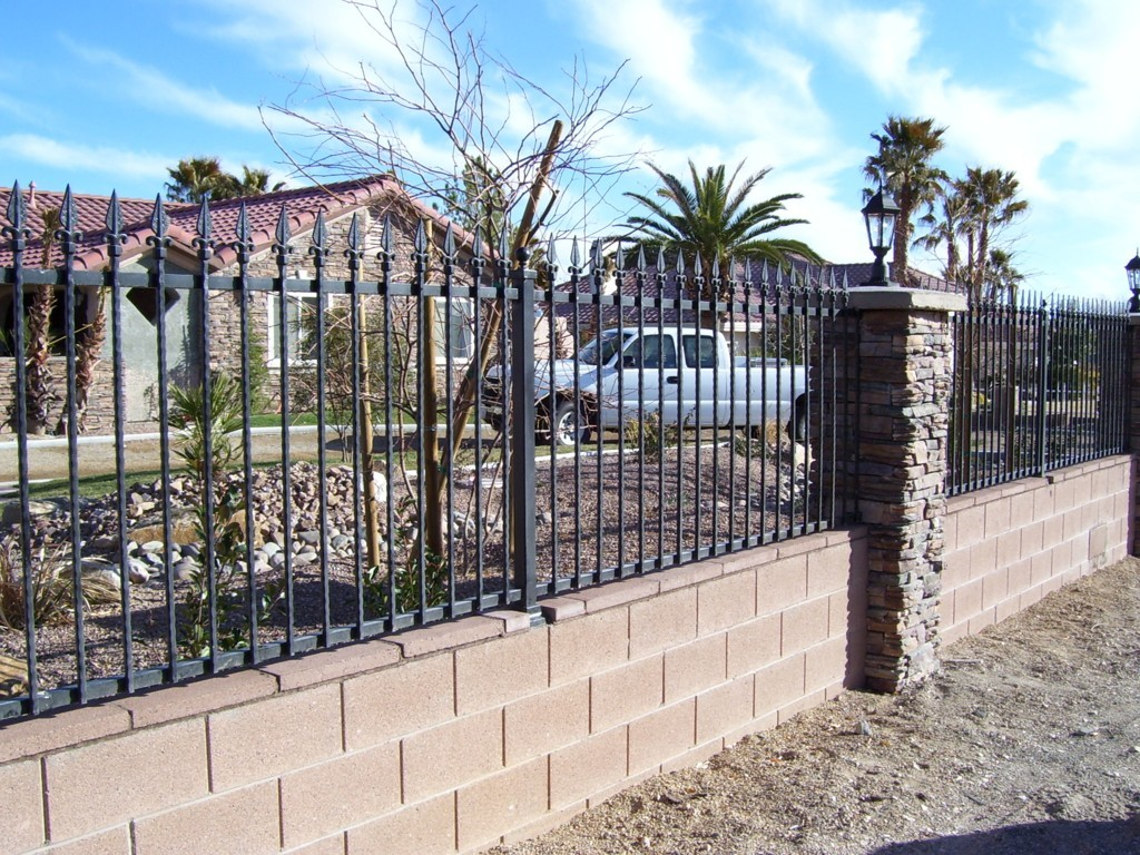 Block And Iron Fence Tyres2c