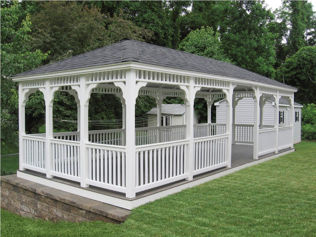 Amish Gazebos Paint