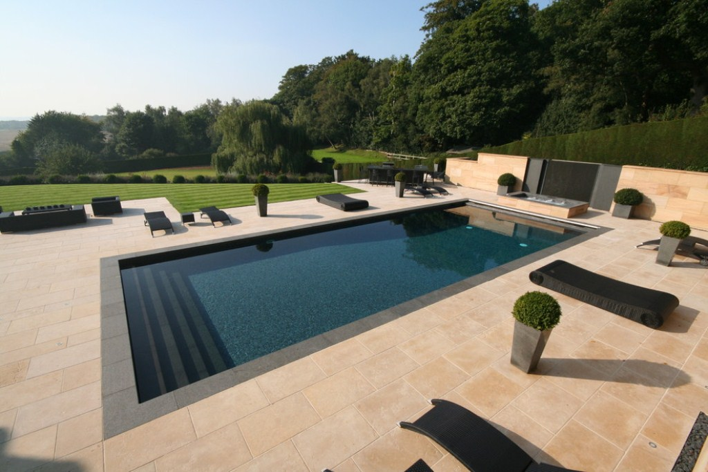 Beautiful Rectangle Swimming Pools