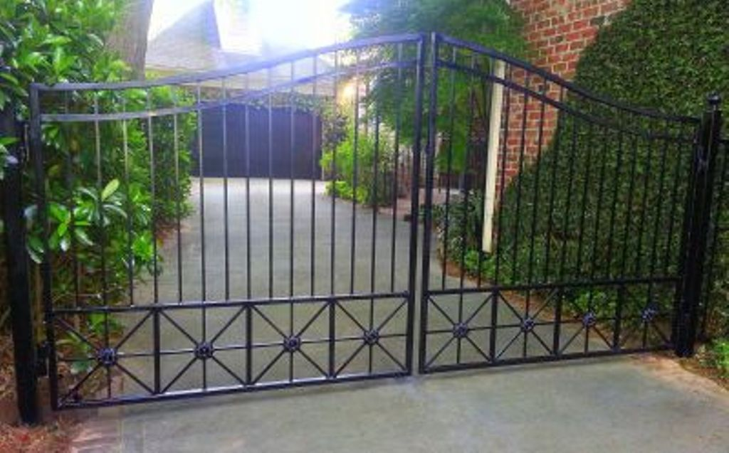 Wrought Iron Driveway Gates Home Depot Rickyhil Outdoor