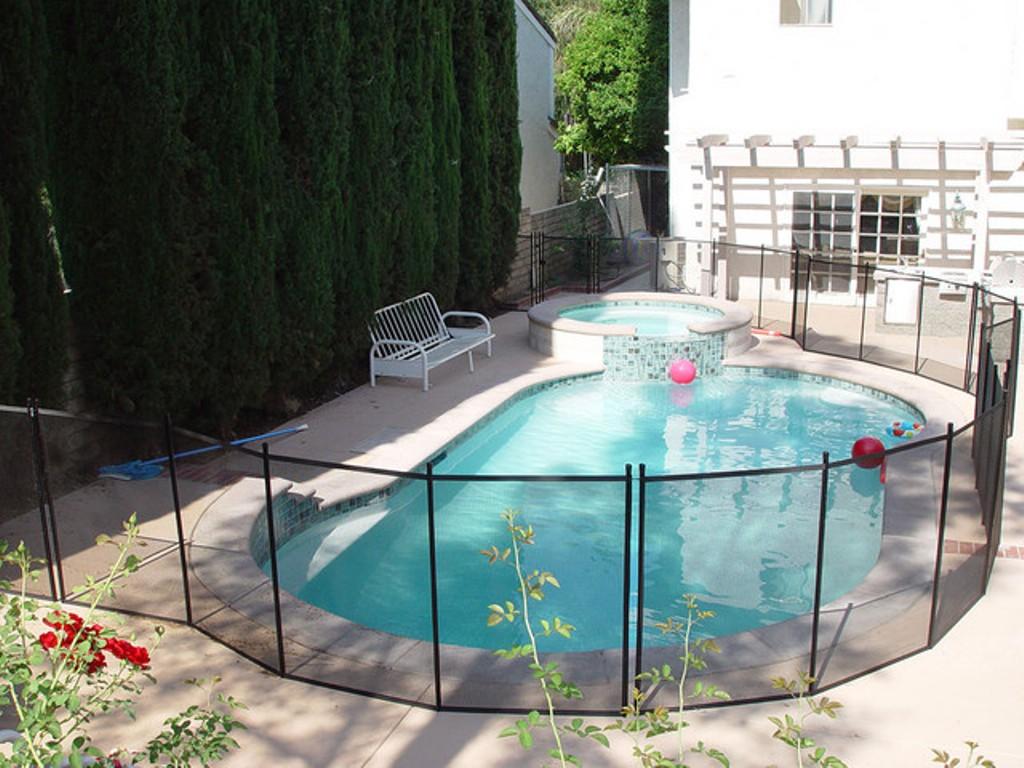 Diy Pool Fence Ideas