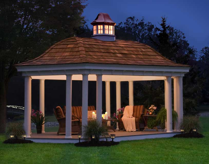 Gazebo Roof Hexagon
