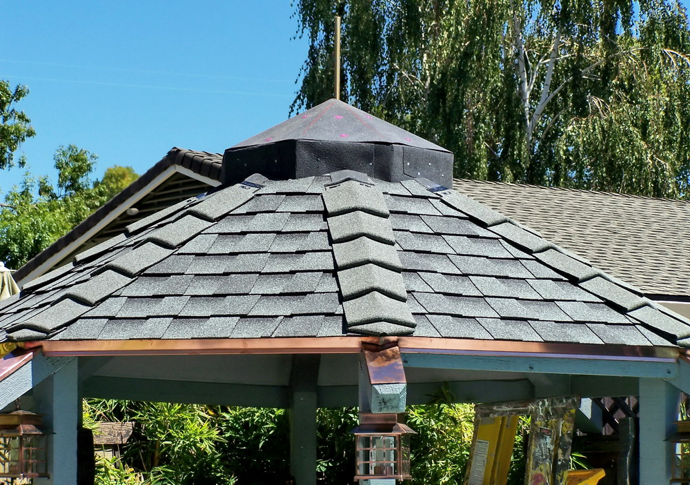 Gazebo Roof Metal Caps