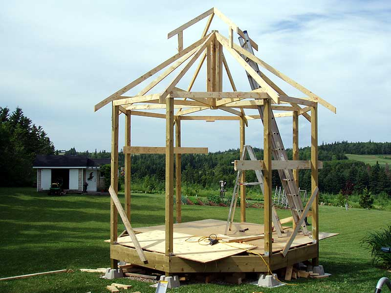 Gazebo Roof Trusses