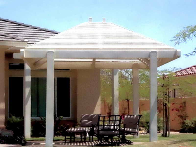 Gazebo Roof White Design