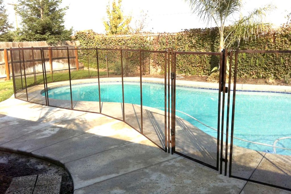 Mesh Pool Fence Install Rickyhil Outdoor Ideas Mesh