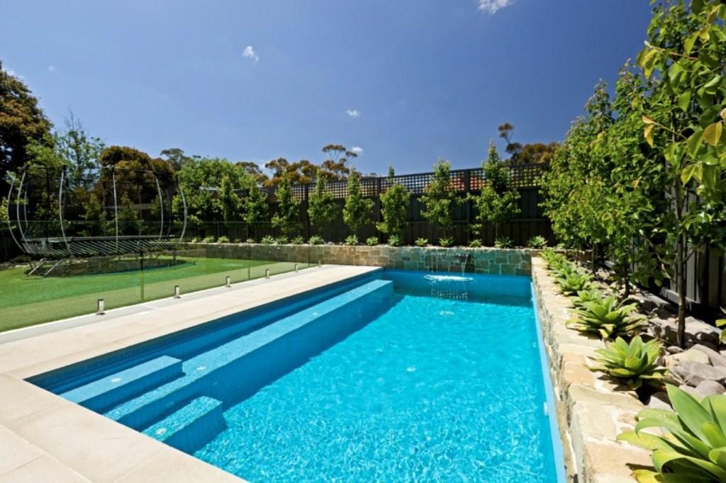 Modern Rectangle Swimming Pools