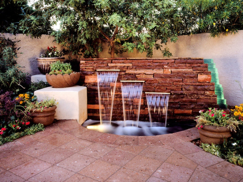 Outdoor Wall Water Fountains Style