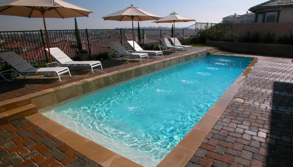 Rectangle Swimming Pools Design