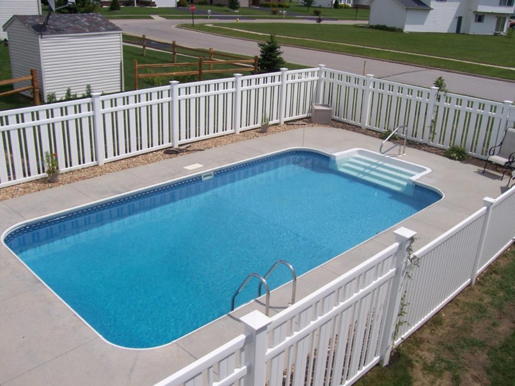 Rectangle Swimming Pools Plan