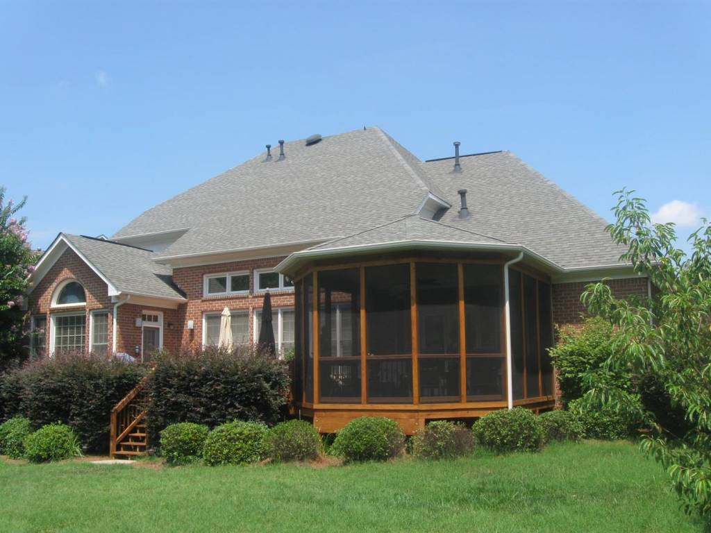 Screened Gazebo Attached To House