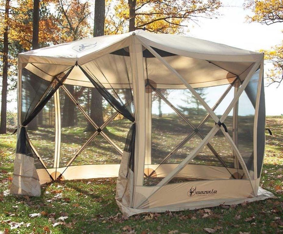 Screened Gazebo Tent