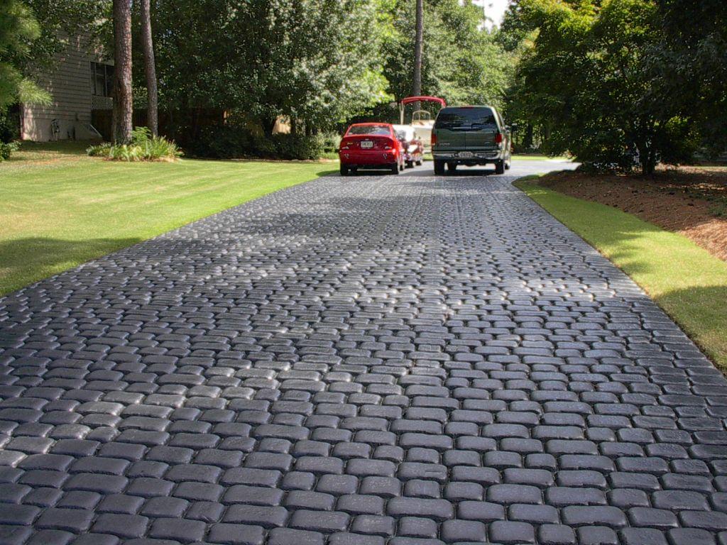 Stamped Concrete Driveway Best