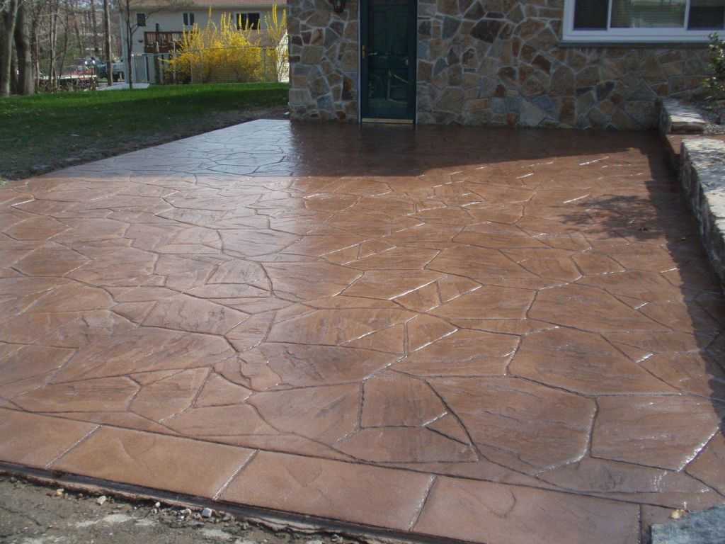 Stamped Concrete Driveway Unique Rickyhil Outdoor Ideas