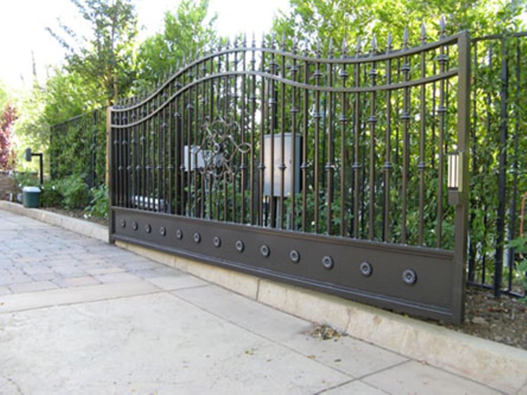 Wrought Iron Driveway Gates Home Depot