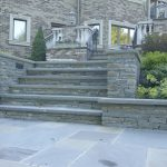 Flooring How Easy To Install Bluestone Pavers With Front Steps