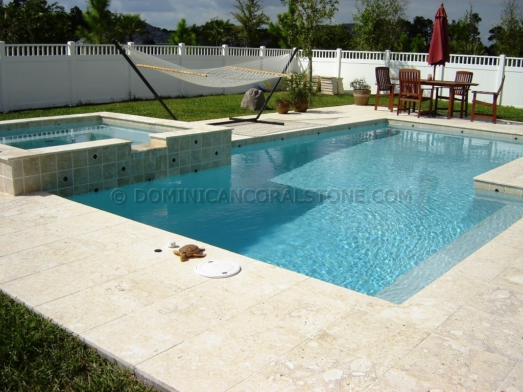 Coral Stone Decks Adds Elegance And Luxury To Your Pool