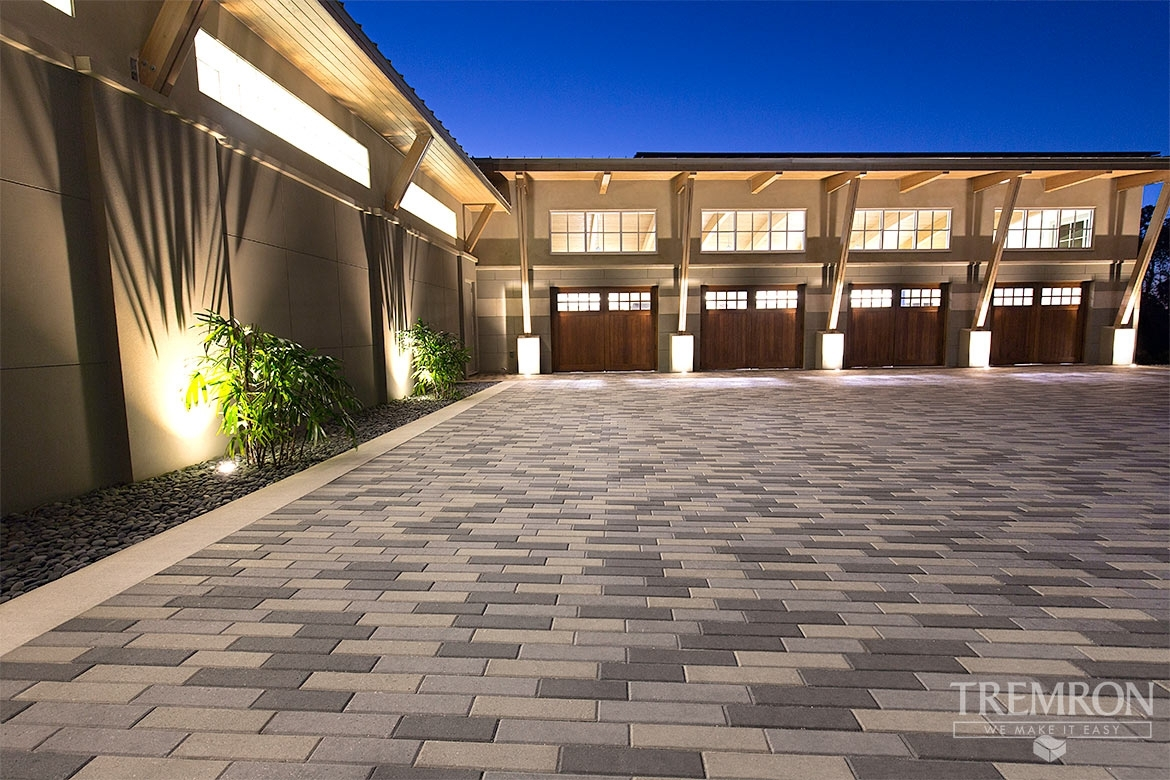 Featured Project Plank Paver Driveway