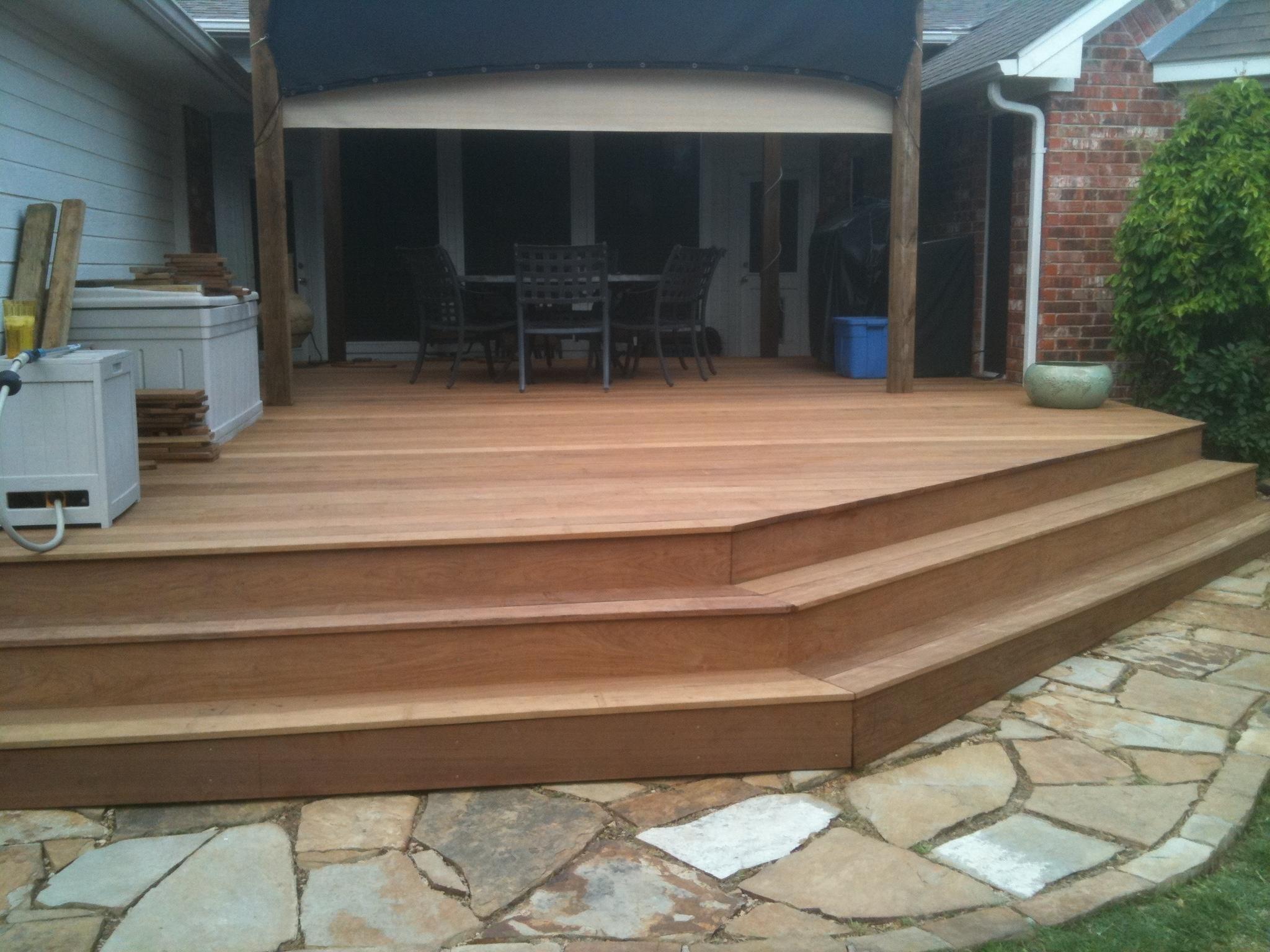 Great Ipe Deck Tiles