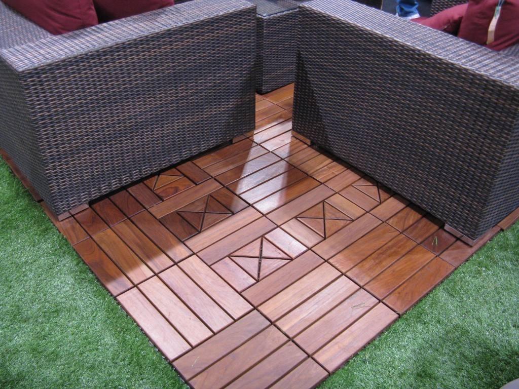 Marvelous Rubber Deck Tiles